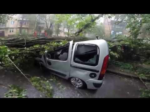 Последствия после дождя в Киеве 25 07 2018  16:00