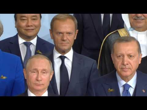 Cumhurbaşkanı Erdoğan, G-20 Aile Fotoğrafında