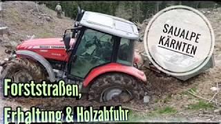 #Forststraßen nach Holzernte