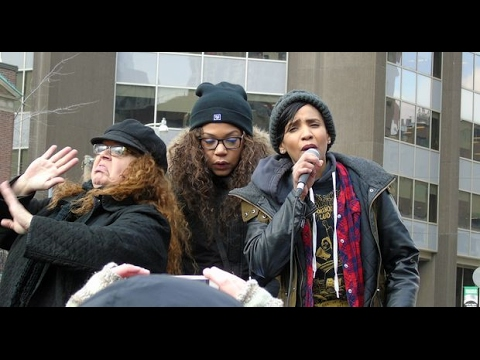 Yusra Khogali's speech at Toronto protest 04 02 2017