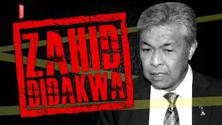 Ahmad Zahid didakwa di Mahkamah Sesyen