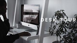 Minimalist Desk Tour & Organization