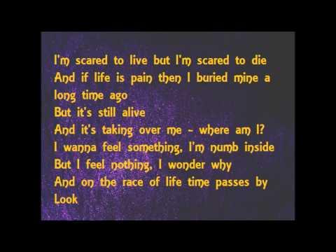 NF - Paralyzed (lyrics)