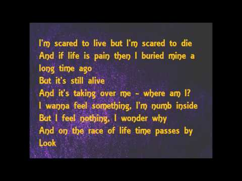 NF - Paralyzed (lyrics)