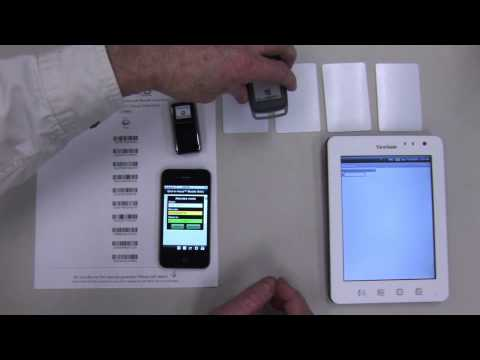Mobile Attendance Taking with iOS and Android devices using RFID and  Barcode readers