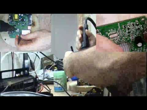 How to fix CrystalAudioVideo Micro HD TV Mpeg4 Decoder + LG Power Supply Repair