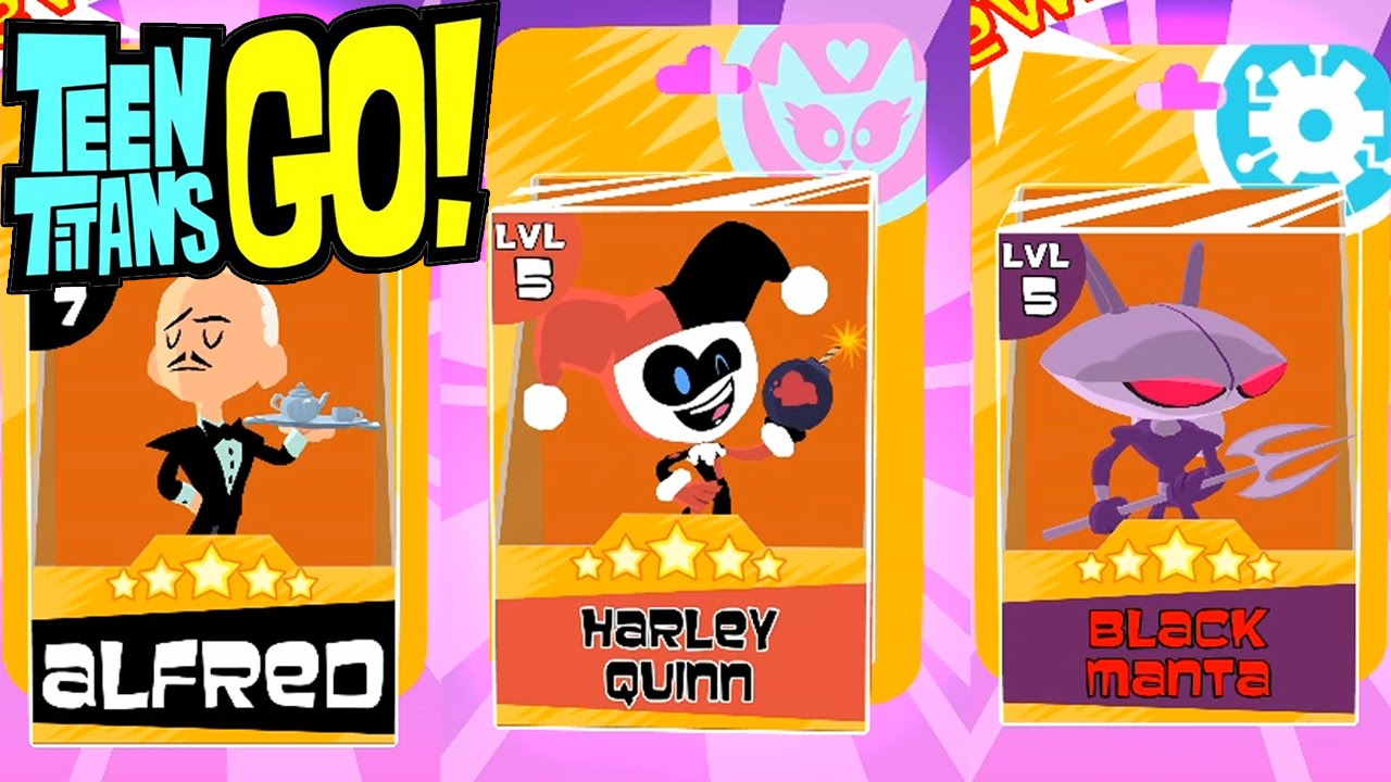 Teeny Titans Big Update – New Figure: Alfred, Black Manta, Harley Quinn