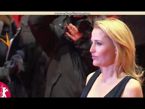 Gillian Anderson - Viceroy's House red carpet - Berlinale