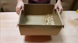 видео Свойства гофрокартонных упаковок