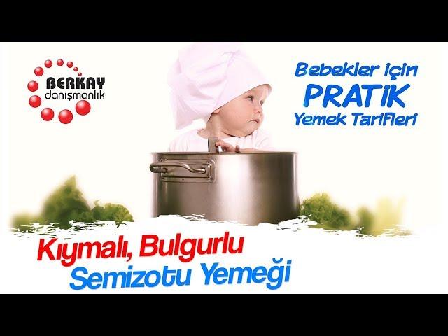 Kıymalı Bulgurlu Semizotu Yemeği Tarifi -  Bebekler İçin Sebze Yemekleri - Pratik Bebek Yemekleri