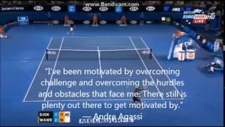 Inspirational quotes- Religions (Tennis)