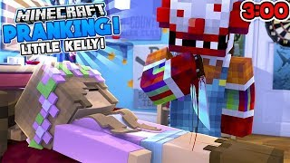 DO NOT PRANK LITTLE KELLY AT 3:00 AM!! w/Little Carly (Minecraft Roleplay)