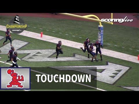 Kahuku vs. Saint Louis: I. Tufaga, 40 yard interception return (HHSAA D1 Open Title)