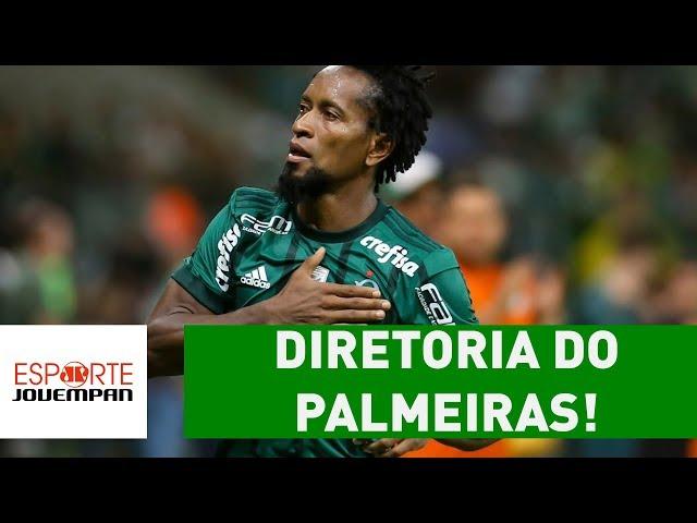 ZÉ ROBERTO vai ocupar cargo na diretoria do PALMEIRAS!