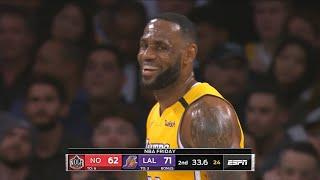 Los Angeles Lakers vs New Orleans Pelicans 1st Half Highlights | January 3, 2019-20 NBA Season