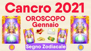 Cancro ♋❤️💌 Oroscopo Gennaio 2021 🔮 Amore, Lavoro, Novità 🌟 Lettura Tarocchi