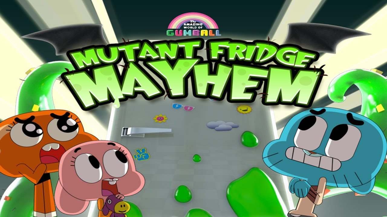 Mutant Fridge Mayhem Gumball Universal Hd Gameplay Trailer
