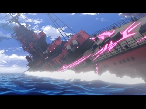 WARSHIPS ATTACK SCENE 2(劇場版 蒼き鋼のアルペジオDC,Arpeggio of Blue Steel DC Movie 1 )