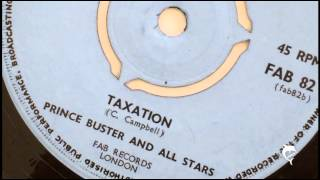 Prince Buster - Taxation (1969) FAB 82 B