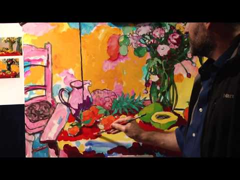 Angus Wilson Painting Demonstration | Carmel Visual Arts Live Stream Archive