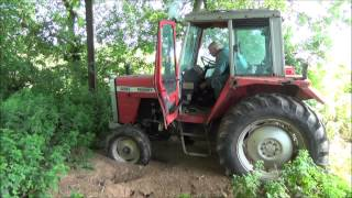 Selling our old Massey Ferguson 690 tractor. Part 1