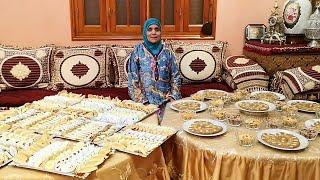 زميطة و حلويات حفل عقيقة مع لالة حادة (السبوع)