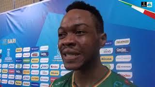 13-09-2018: #barivolley2018 - Yvan Kody, tra musica, medicina e volley con il Camerun nel cuore