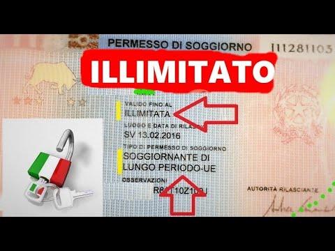 Permesso di Soggiorno illimitato, Permesso di soggiorno UE ...
