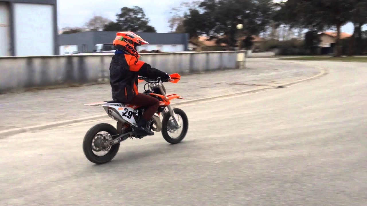 100 ktm ktm 65 sx montage youtube for People s choice 65