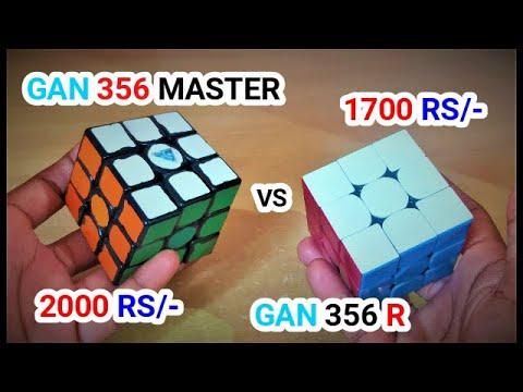 GAN356 MASTER VS GAN 356 R CUBE FULL COMPARISON !