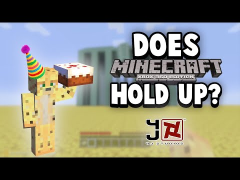 Does Minecraft Xbox 360 Hold Up? (8 Years Later)