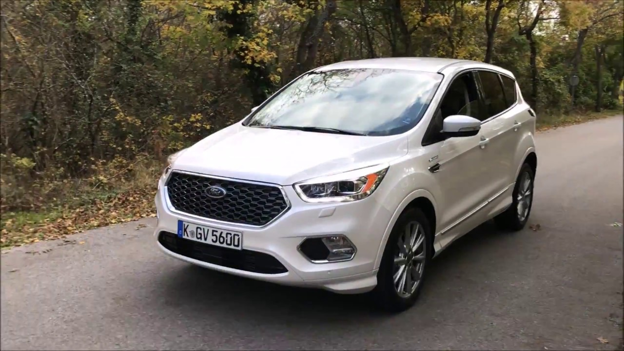 der brandneue ford kuga vignale 2017 youtube