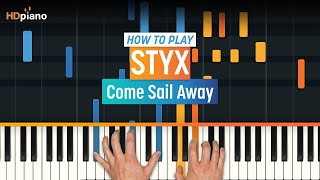 """Learn how to play """"Come Sail Away"""" by Styx! Click here for PART 2 a..."""