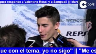 MotoGP 2017 | Marc Marquez responde a Valentino Rossi y Sampaoli