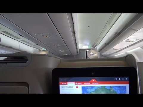 Qantas A330-200 New Business Class QF566: Perth To Sydney, Australia