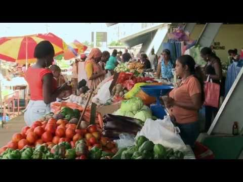 A Tour of Trinidad's Market