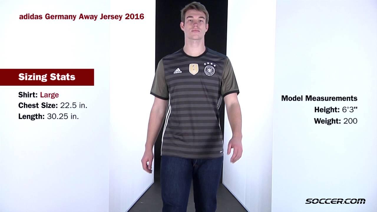 0939dfe5671 adidas Germany Away Jersey 2016 - YouTube