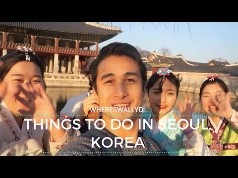 A Day In Seoul, South Korea || WHERESWALLYD Travel Vlog (001)