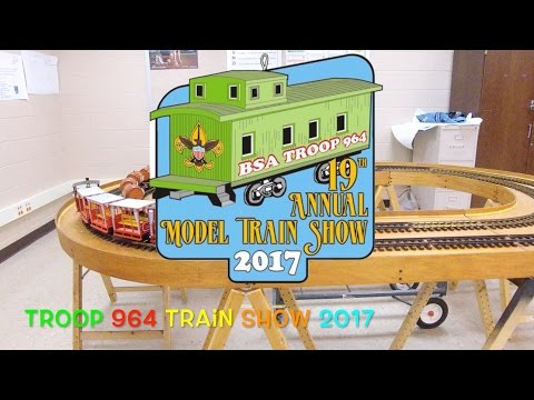 Boy Scout Train Show 2017