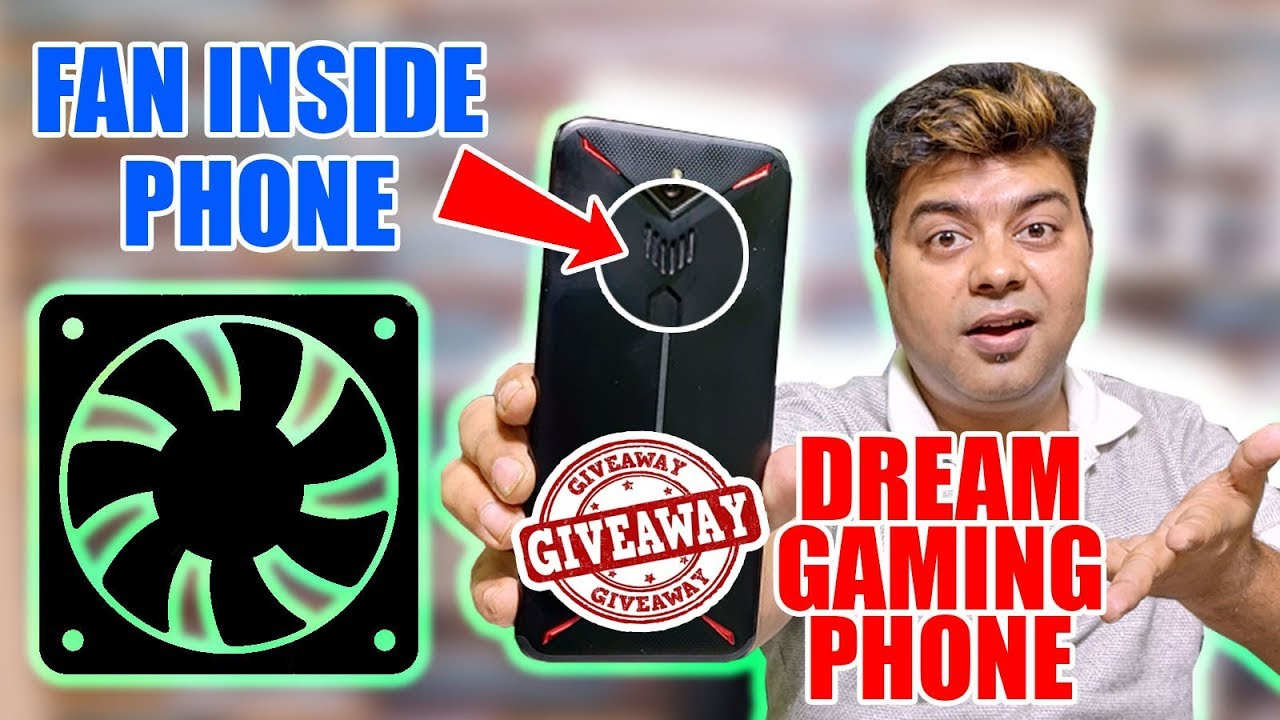 Giveaway, Nubia Red Magic 3 | India Ka Dream Gaming Phone | Unboxing and Review