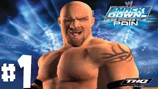 WWE Smackdown Here Comes The Pain Season Mode Playthrough Ep. 1 - PILOT