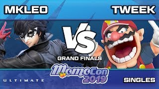 Momocon 2019 SSBU -  FOX | Mkleo vs TSM | Tweek Ultimate Grand Finals