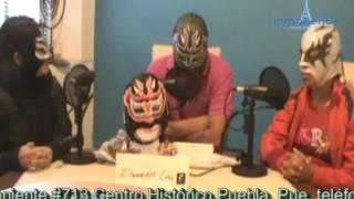 Duelo de máscaras Dinamikoo se enfrenta a Luna y Centella de Plata
