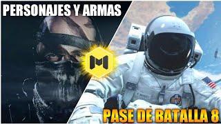 """PASE DE BATALLA 8, ARMAS Y PERSONAJES QUE """"PODRÍAN"""" LLEGAR a COD MOBILE"""