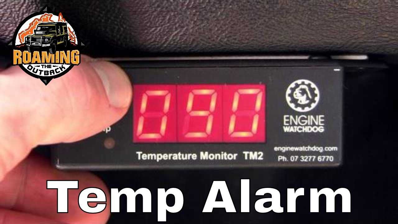 Engine Watchdog Tm2 Temperature Alarm Overview And