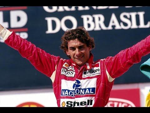 Ayrton Senna Tema da Vitória Japonês - Japão - Fuji TV