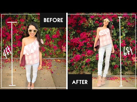 How To Look TALLER on Instagram || From Head To Toe