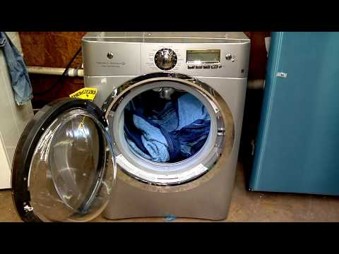 EWFLS70JSS ELECTROLUX,  HEAVY DUTY CYCLE, ONE BLANKET, RINSE SPIN CYCLE OTHER BLANKET