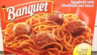 Banquet Spaghetti with Meatballs and Sauce Review