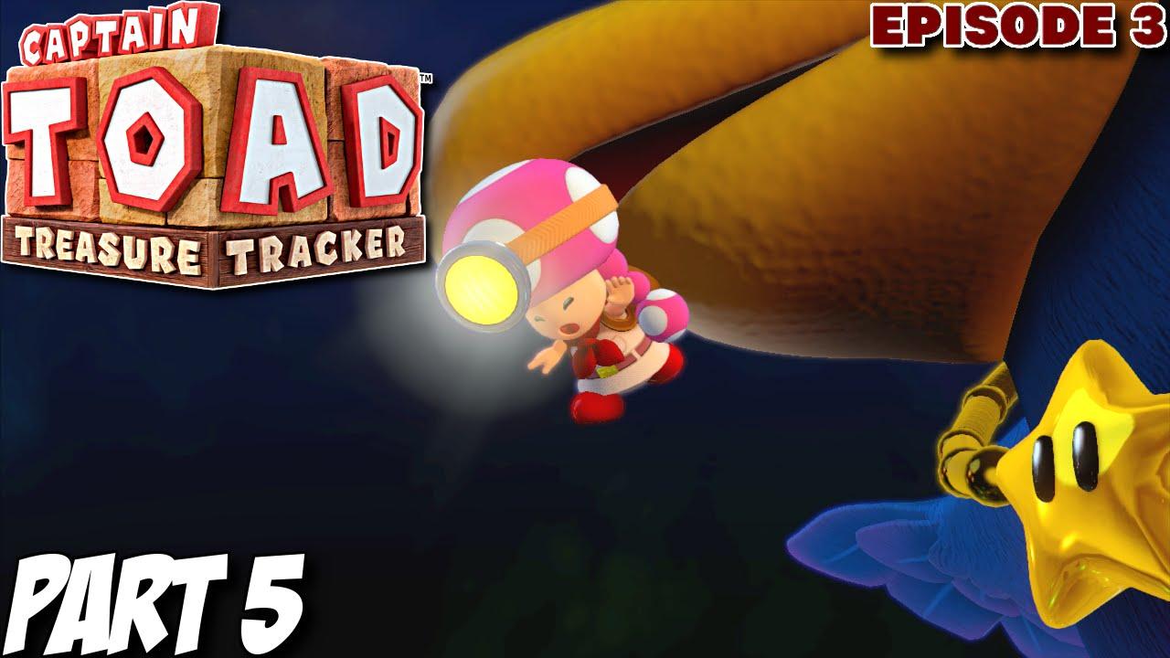 Captain toad treasure tracker 100 gameplay walkthrough part 5